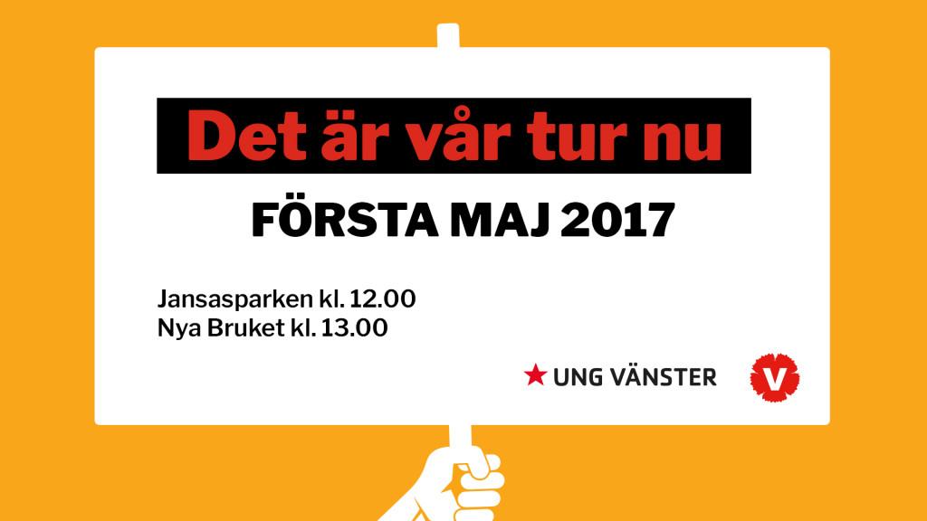 1 maj 2017 FBevent